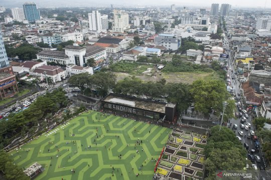 Pembangunan tahap I Masjid Raya Jawa Barat rampung April