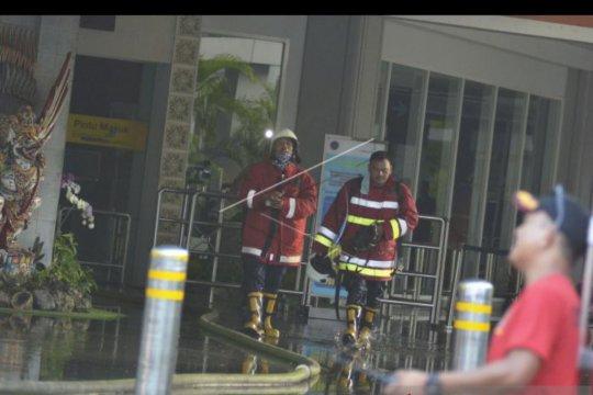Operasional Terminal Domestik Ngurah Rai dihentikan sementara