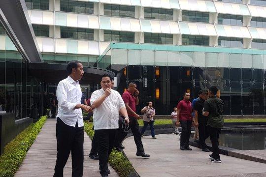 Jokowi  yakinkan investor Indonesia aman pasca-pemilu