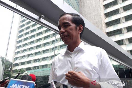 Jokowi senang masyarakat beri ucapan selamat