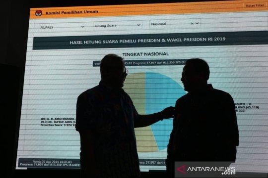 KPU resmikan pusat informasi rekapitulasi suara Pemilu 2019