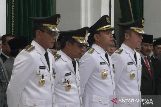 Ridwan Kamil lantik Wali Kota dan Wawalkot Bogor
