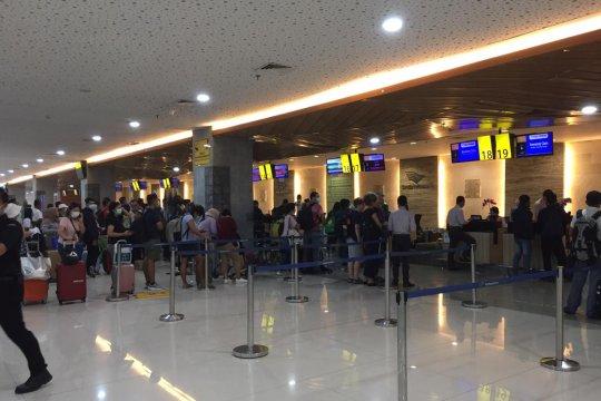 Normal lagi, operasional Terminal Domestik Bandara I Gusti Ngurah Rai
