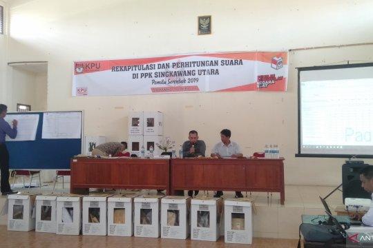 KPU Singkawang laksanakan rekapitulasi suara tingkat kecamatan