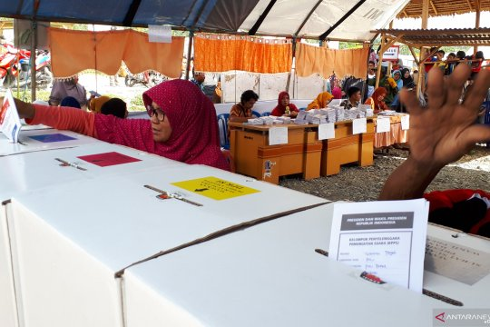 KPU Pastikan penyelenggaraan pemilu di Sulteng bebas dari kecurangan