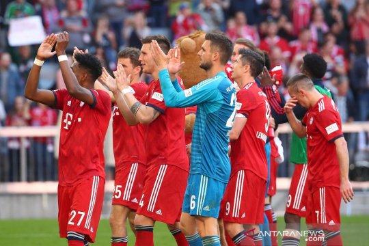 Hasil dan klasemen Liga Jerman, Muenchen mantapkan posisi puncak