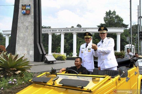 Inagurasi pelantikan wali kota Bogor terpilih