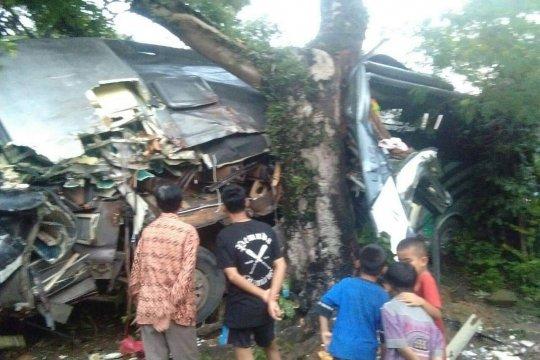 Polisi Tangkap Sopir Bus Penyebab Kecelakaan Di Waluran Sukabumi
