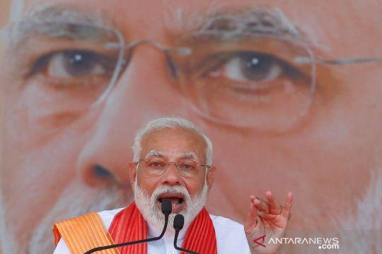 Kampanye pemilu calon Perdana Menteri petahana India Narendra Modi