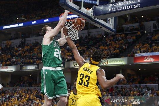 Sapu bersih Pacers, Celtics tim perdana lolos ke putaran kedua