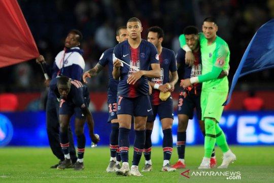Hasil dan klasemen Liga Prancis, PSG juara