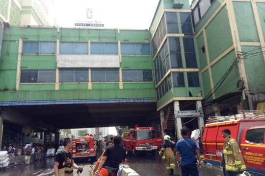 Arus pendek listrik diduga penyebab kebakaran Pasar Blok C Tanah Abang