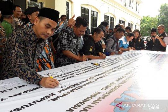 Polres Bekasi inisiasi deklarasi damai pasca pemilu