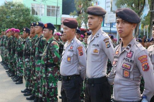 550 personel TNI/Polri amankan rekapitulasi  di Kota Jayapura