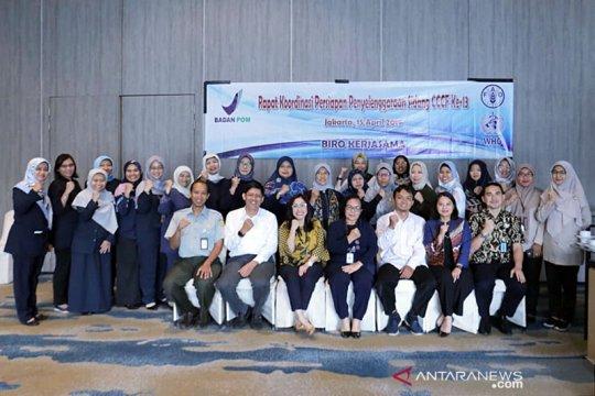 Badan POM wakili Indonesia untuk sidang CCCF ke -- 13