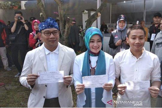 Ridwan Kamil ajak warga percayakan penghitungan suara kepada KPU