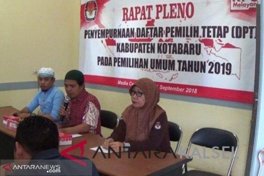 KPU Kotabaru targetkan tuntas rekapitulasi suara akhir April