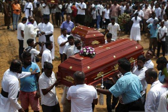 Sri Lanka revisi jumlah korban tewas dalam serangan turun 100
