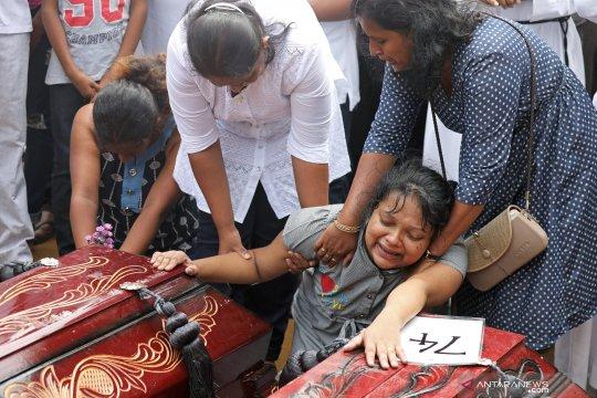 Lima Warga China Hilang Pasca-Bom Sri Lanka