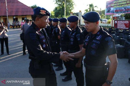 Polda NTT kirim ratusan anggota Brimod ke Jakarta
