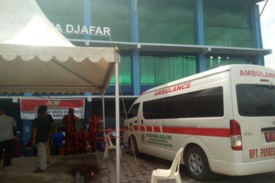 Tim medis berjaga di seluruh PPK di Batam