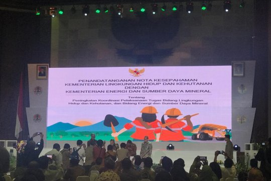 KLHK-Kementerian ESDM percepat reklamasi hutan dan rehabilitasi DAS