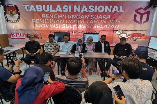 """315 penyelenggara Pemilu di Sulsel """"tumbang"""""""