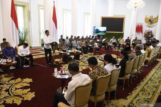 Jokowi minta Menkeu alihkan anggaran kementerian ke PUPR