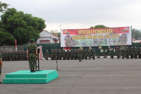 Rindam XIII Merdeka gelar Dikmata TNI AD