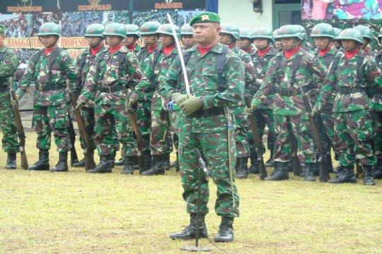 139 tamtama Kodam XIII/Merdeka ikuti Pendidikan Kejuruan Infantri