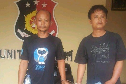 Polisi tangkap dua perampok HP di Medan