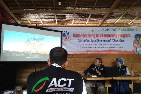 "ACT Aceh luncurkan tujuh program ""Marhaban Yaa Dermawan"""