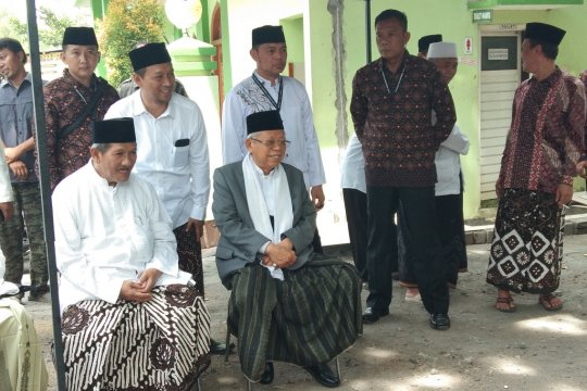 Ma'ruf Amin hadiri tasyakuran sukses pilpres di Yogyakarta