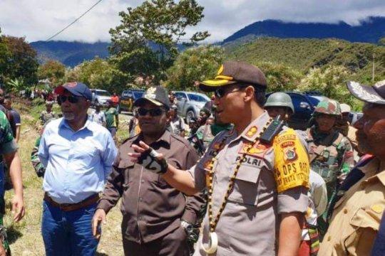 Kapolres : situasi dan kondisi Puncak Jaya kondusif