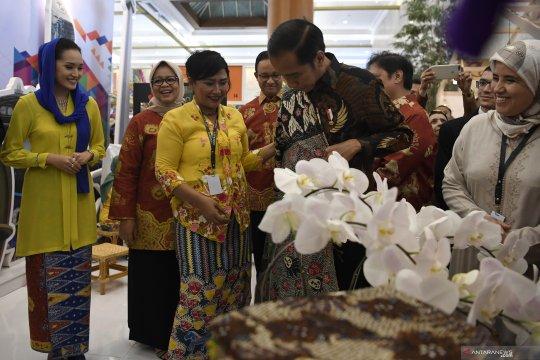 Presiden Jokowi dukung Inacraft daring agar tembus pasar global