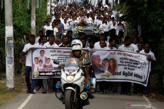 Pembom bunuh diri Sri Lanka berasal dari keluarga kaya