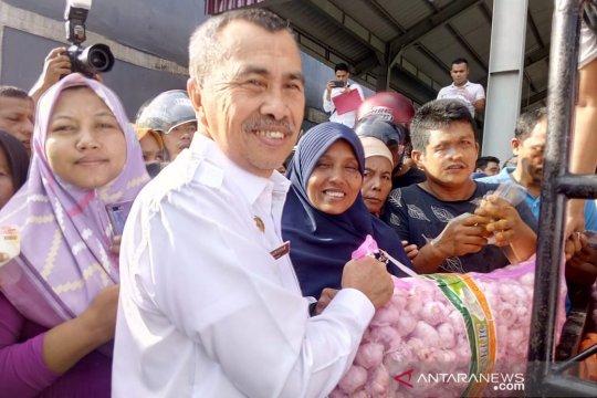 Kemendag gelar operasi pasar bawang putih di Pekanbaru