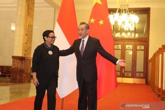 Pertemuan bilateral Indonesia dan China