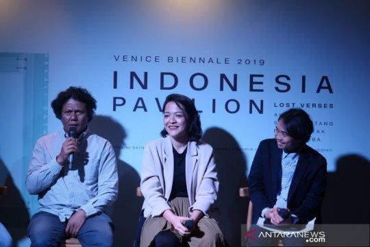 Karya dua perupa Indonesia akan tampil di Venice Biennale 2019