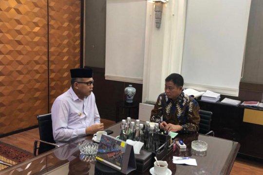 Plt Gubernur Aceh temui Menteri ESDM terkait pembatalan PT EMM