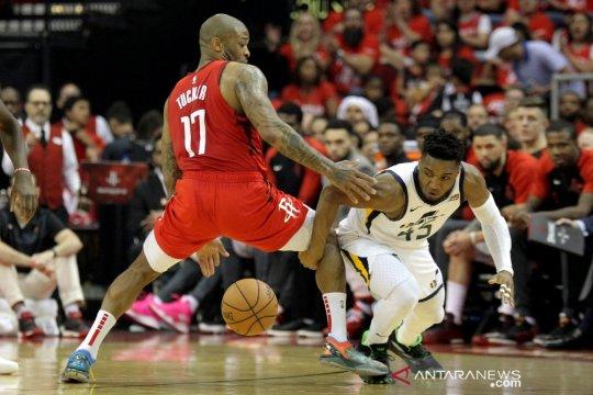 Menangi gim kelima lawan Jazz, Rockets melesat ke putaran kedua