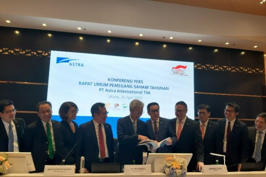 Astra International bagikan dividen Rp8,6 triliun