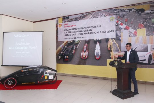 Malim Diwa Urban Wakili Unsyiah di Shell Eco-Marathon Asia