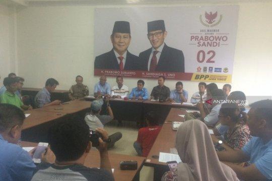 BPP akui suara Prabowo-Sandi kalah tipis di Jatim