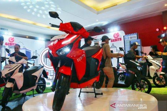 Motor listrik Gesits sudah bisa dipesan, harganya Rp25 jutaan