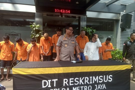 Polisi limpahkan sembilan sindikat pemalsu materai ke kejaksaan