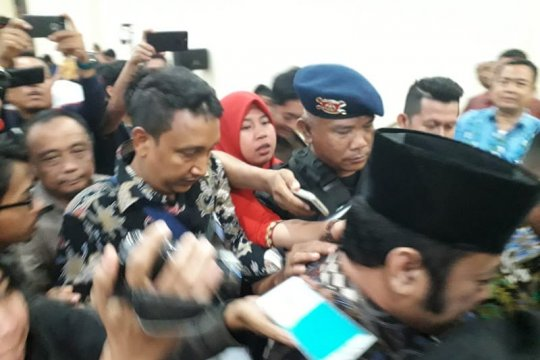 Zainudin Hasan enggan bicara usai divonis 12 tahun penjara