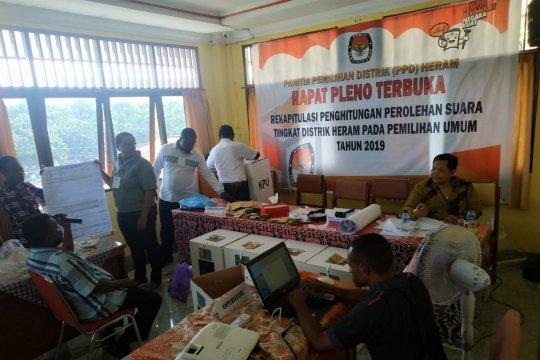 Jokowi-Ma'ruf unggul di Kelurahan Waena