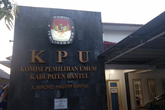 Data pemilih untuk PSU di Bantul 3.093 orang