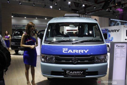 Angkot Suzuki - JakLingko akan dilengkapi AC dan pintu otomatis